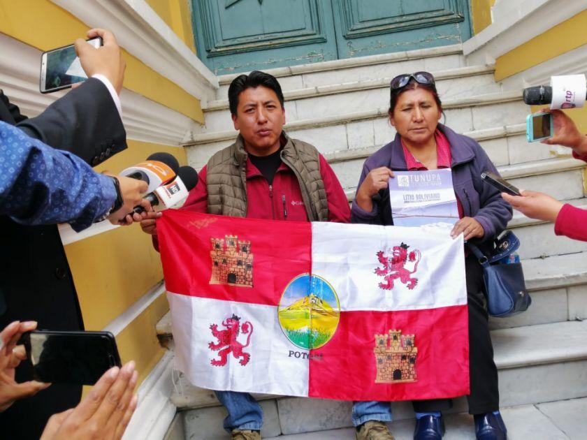 Dirigentes de Comcipo instalaron su piquete de huelga en La Paz