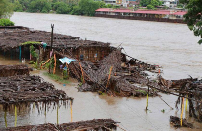 Fuertes lluvias dejan dos muertos en Nicaragua