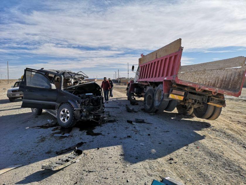Colisión causa dos muertos y tres heridos en la carretera Uyuni-San Cristóbal