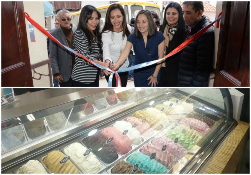La heladería Vaca Fría se inaugura con 40 sabores