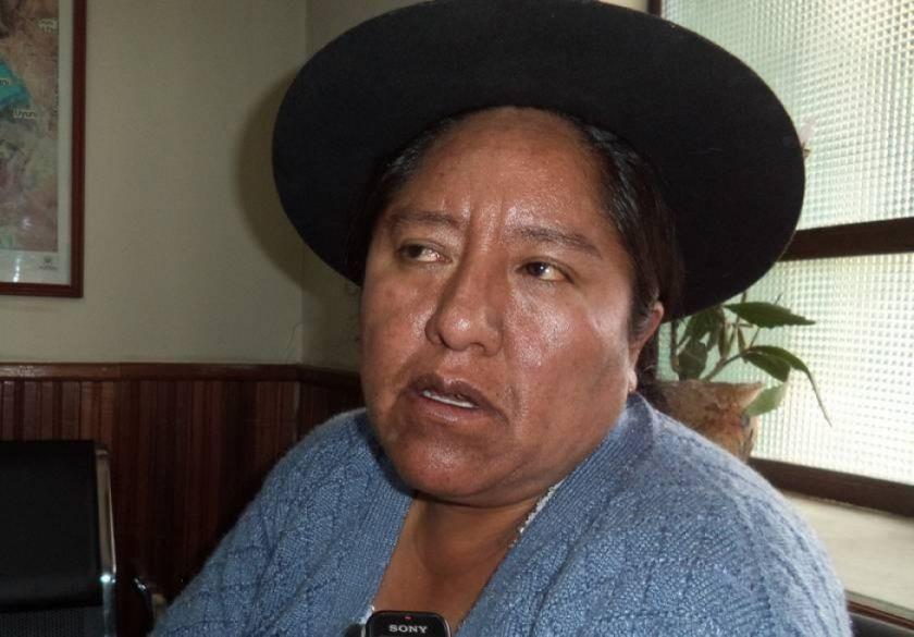 Fiscalía pide la detención preventiva de la alcaldesa de Yocalla