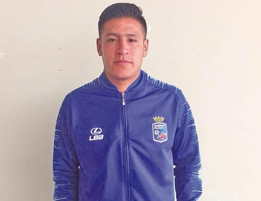 Potosino es convocado a la selección boliviana de fustal