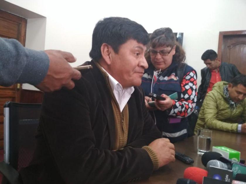 Cejas dice que el gobierno ya propuso diálogo y ahora espera respuesta de Comcipo