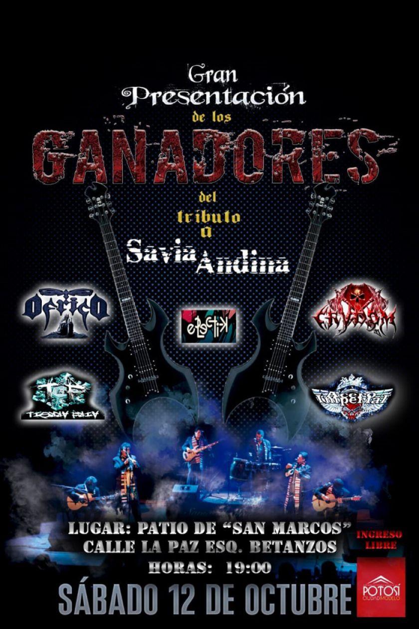 Mañana habrá concierto de cinco bandas de rock