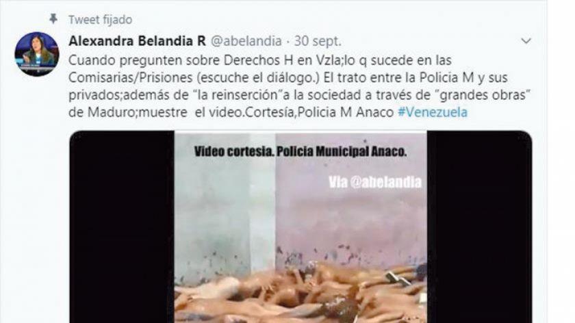 Denuncian las vejaciones  en una cárcel de Maduro