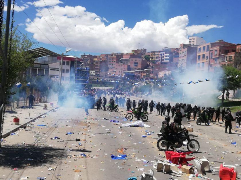 Comcipo dice que la agresión partió del lado de los masistas