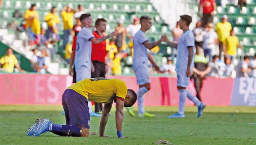 Argentina golea 6-1 a Ecuador sin Leo Messi