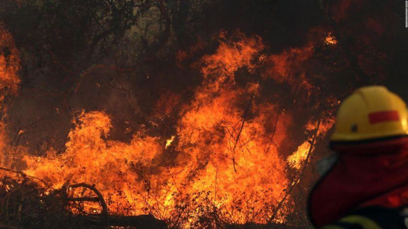 Chiquitania: más del 50 por ciento de hectáreas quemadas es tierra fiscal