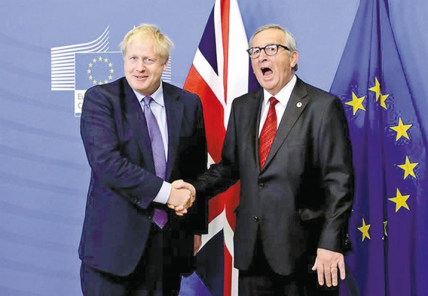 """Unión Europea y Reino Unido logran acuerdo sobre """"brexit"""""""