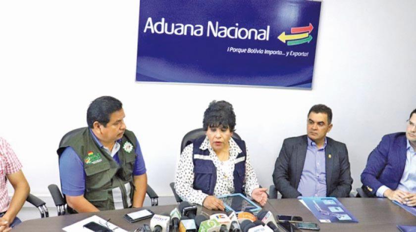 Aduana coordina acciones de lucha contra el contrabando