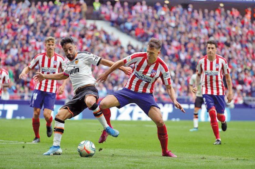 Valencia empata a Atlético de Madrid en la novena jornada de LaLiga Santander
