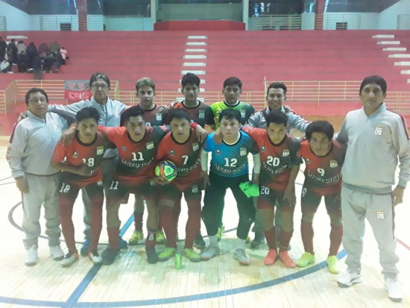 Mazo Cruz se corona campeón y jugará el torneo nacional de futsal en Tarija