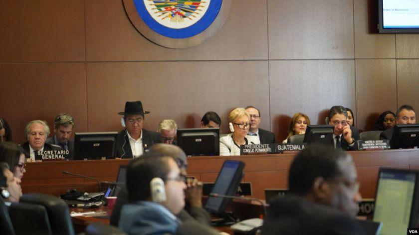 OEA: los resultados aún no deben considerarse legítimos