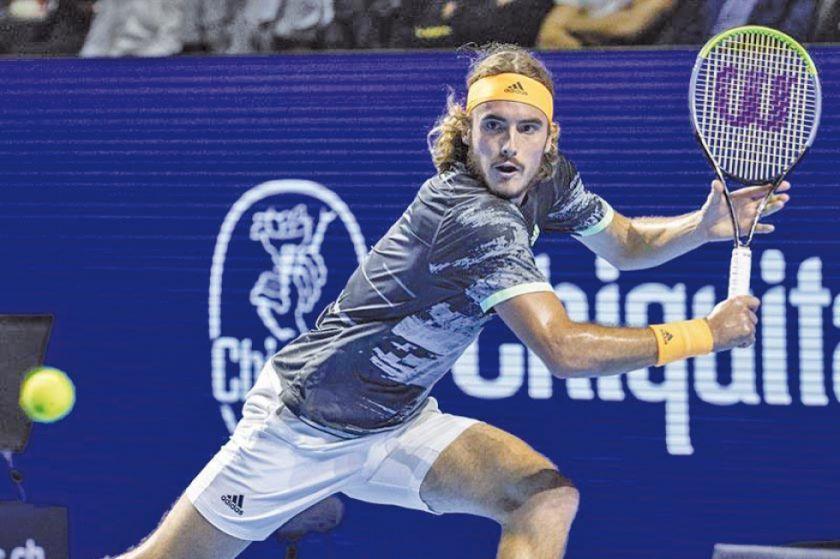 Tsitsipas sobrevive a Krajinovic y se cita con Federer en las semifinales de Basilea