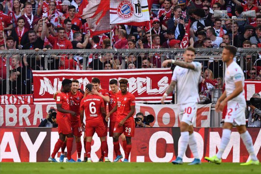 Bayern gana y es líder provisional de la Bundesliga