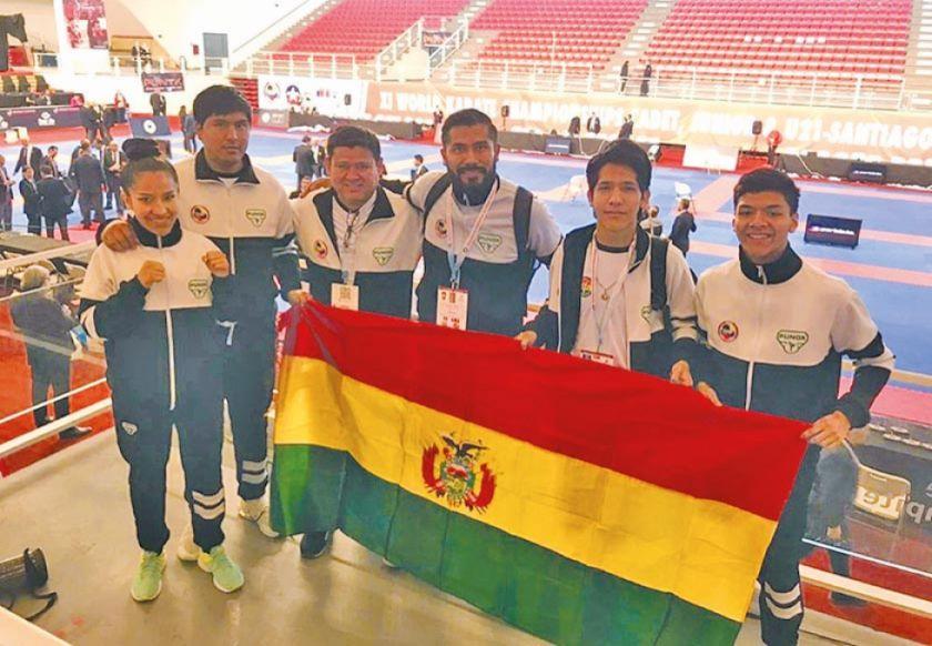 Karatecas destacan en el Mundial