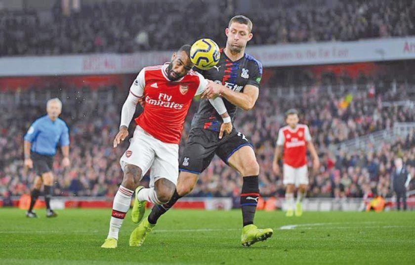 """Arsenal se atasca ante el equipo de Crystal Palace en el """"Emirates Stadium"""""""