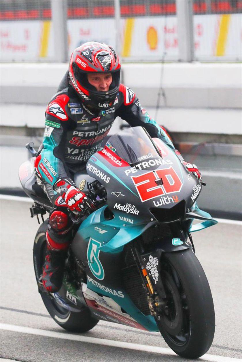 Quartararo es el más rápido en el circuito de Sepang