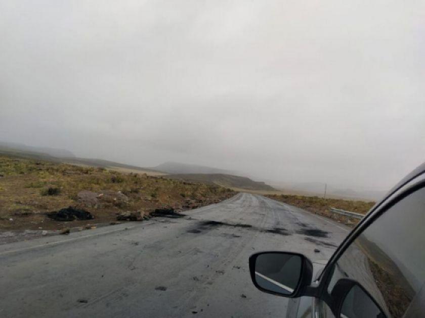 Encuentran a un hombre sin vida en el camino asfaltado a Cuchu Ingenio