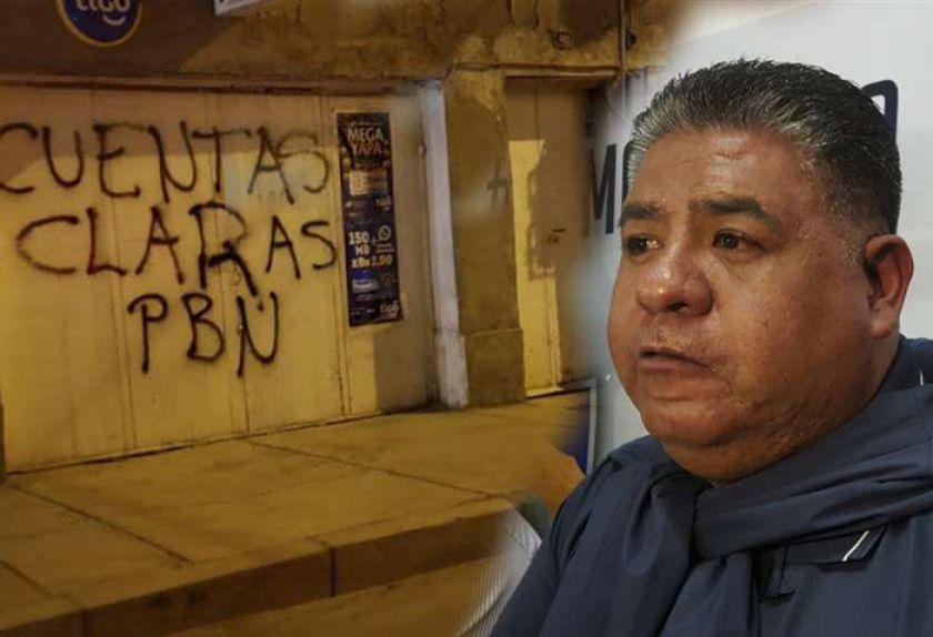 Fanáticos insultan al presidente de San José en su propia casa