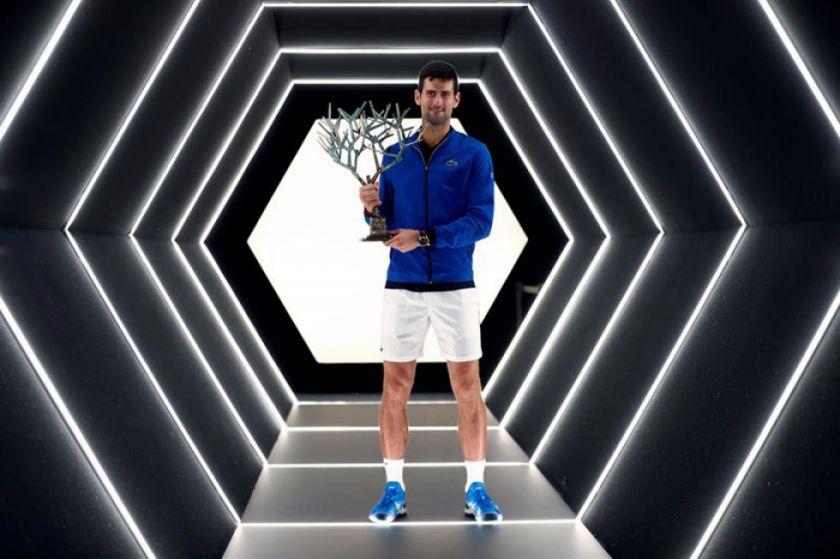 Djokovic gana el Masters de París