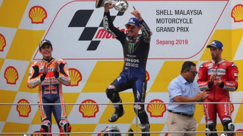 Viñales conquista el GP de Malasia de MotoGP