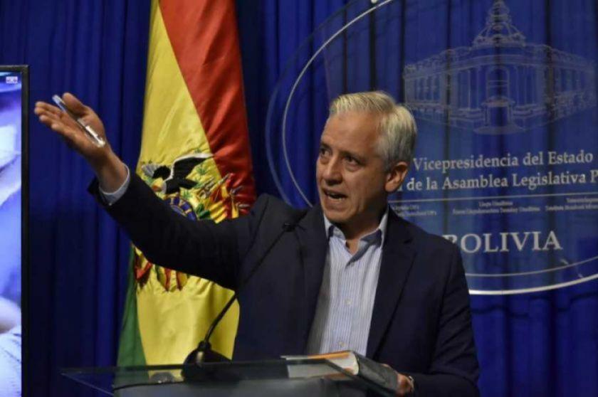 """García Linera pide a Mesa y Camacho """"no provocar más muertes"""" y apoyar la auditoría de la OEA"""