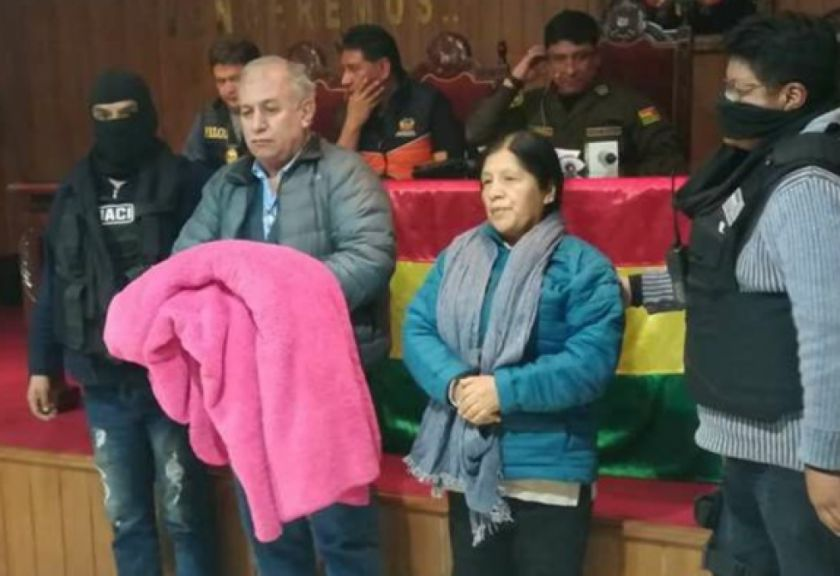 Inicia la audiencia de Choque y Costas; Fiscalía pedirá detención preventiva para ambos