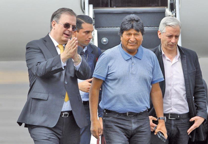 Evo Morales hace referencia a Potosí en su llegada a México