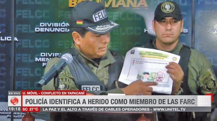 Guerrillero de las FARC fue herido en enfrentamientos