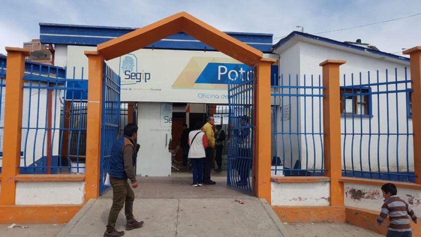 El Segip en Potosí ya abrió sus puertas