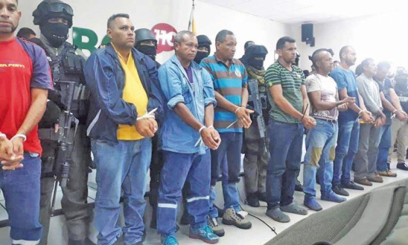 Arrestan a 9 extranjeros por presuntos actos violentos