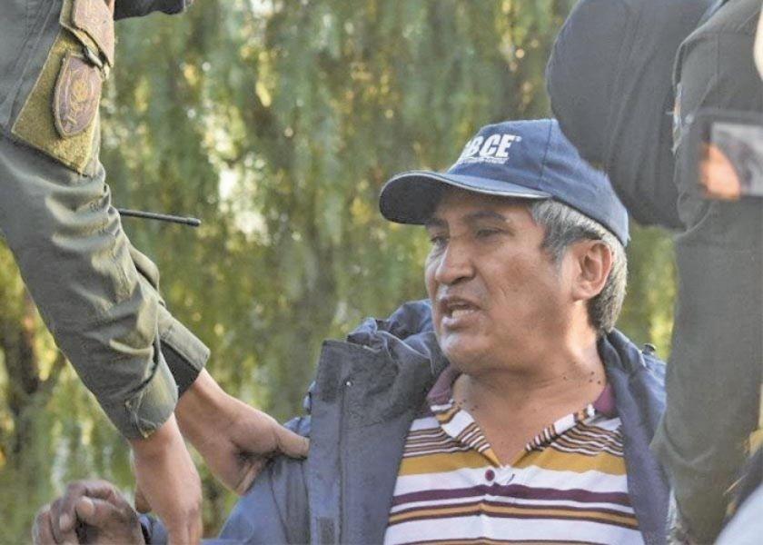 Investigan por alzamiento armado a dirigente del MAS