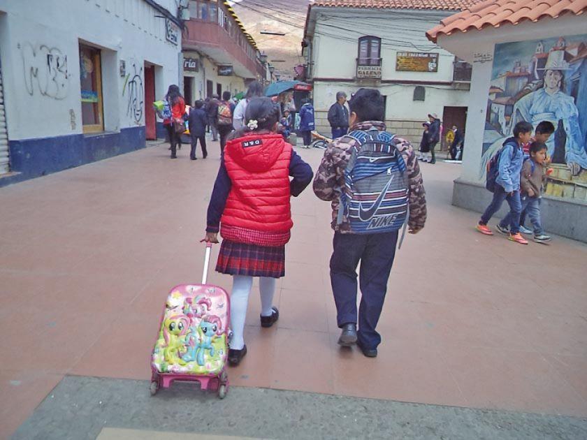 El lunes 18, maestros urbanos y rurales vuelven a clases en Potosí