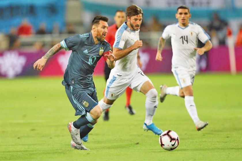 Argentina y Uruguay empatan en el clásico del Río de la Plata