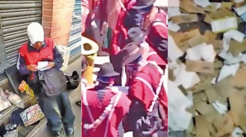 El Alto: suman denuncias e indicios de que movilizaciones son financiadas