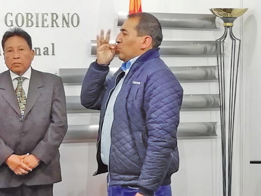 Santamaría asume como viceministro de Seguridad Ciudadana