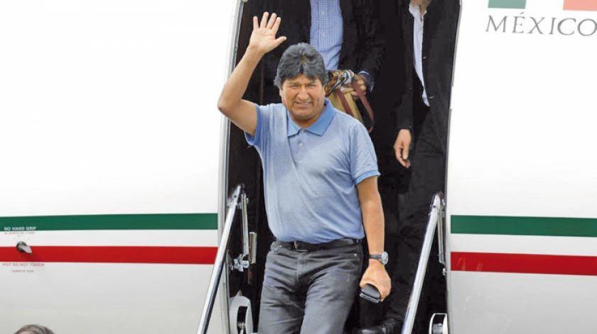 Presentan protesta ante México por actividad conspirativa de Evo