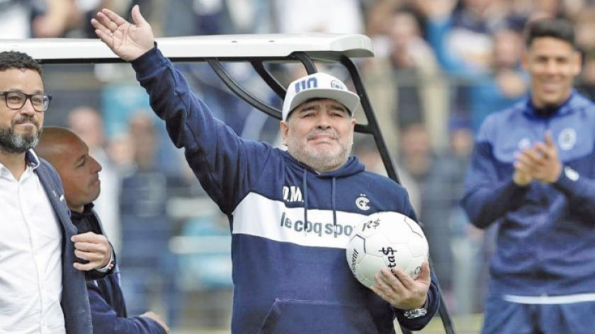 Maradona vuelve a dirigir a Gimnasia