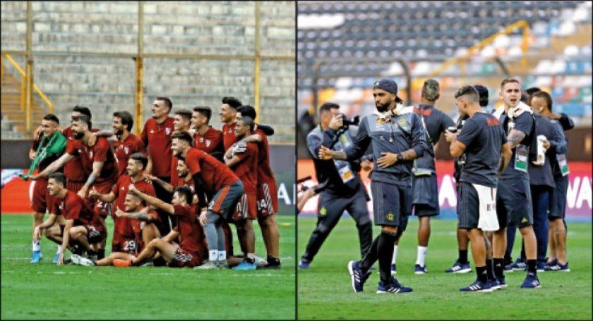 River y Flamengo van por  el título de la Libertadores