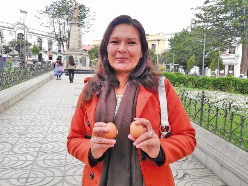 Jímenez: les falta huevos a los señores Canaviri y Choque