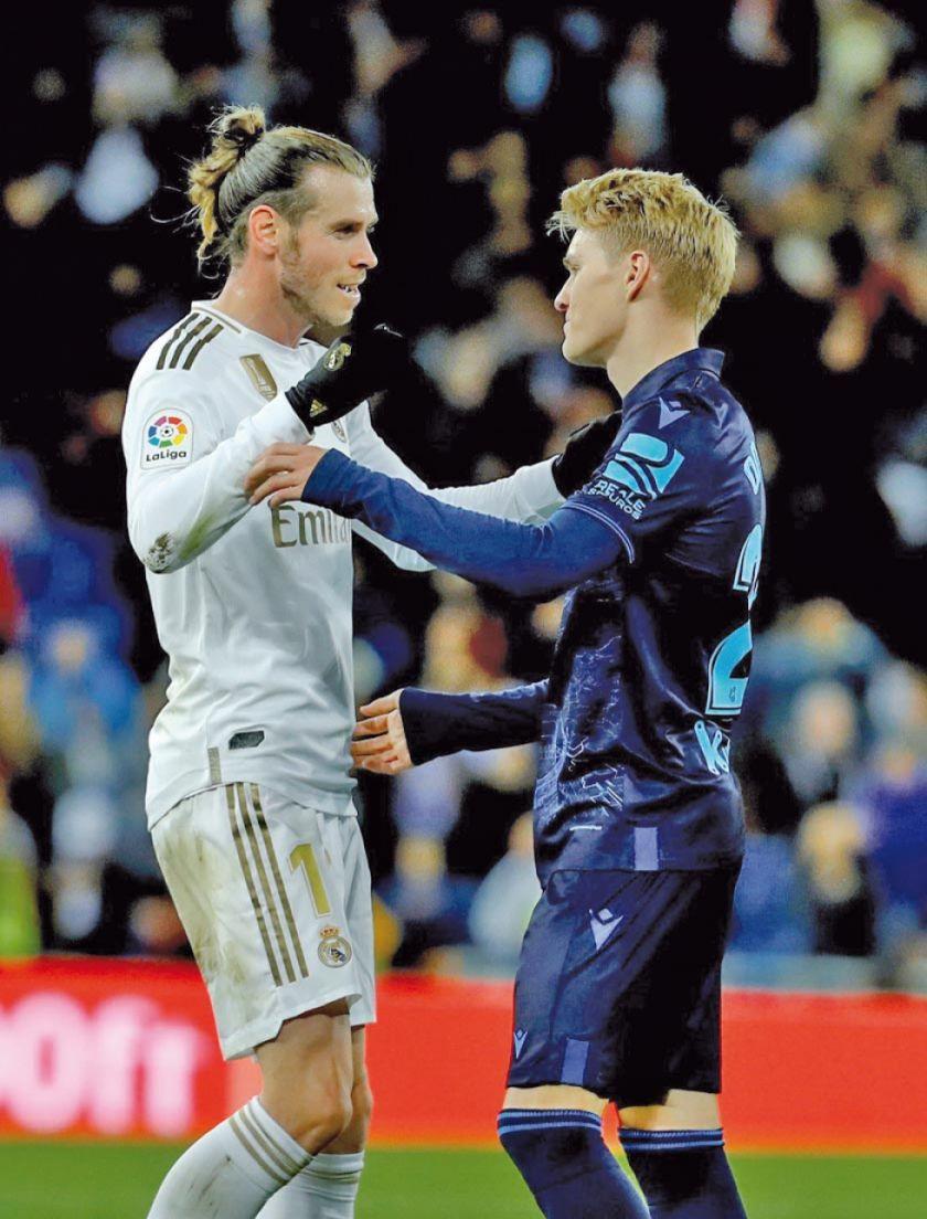 Real Madrid derrota a la Sociedad