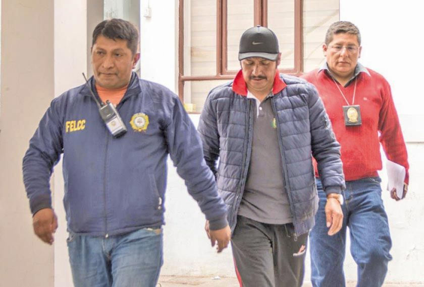 Audiencia cautelar del Gobernador Esteban Urquizu es hoy