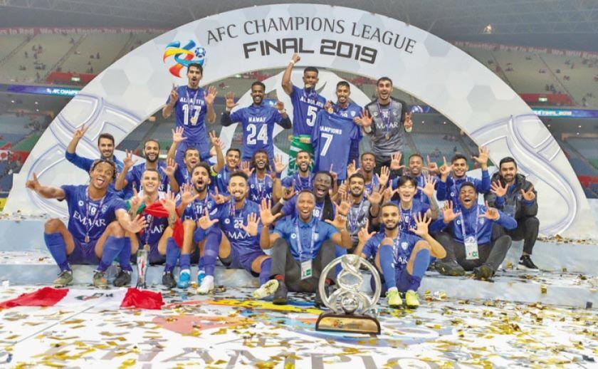 Al Hilal saudí logra el título de la Liga de Campeones de Asia