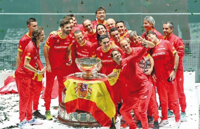 España gana la Copa Davis por sexta vez