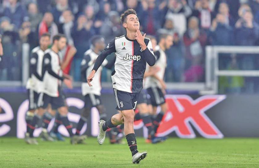 Juventus vence a Atlético de Madrid