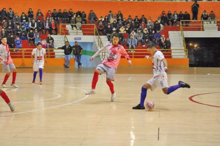 Concepción empata ante Projecto Enigma Latín Cross en la Liga Nacional de Futsal