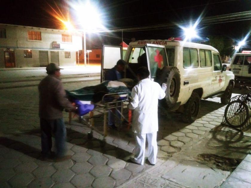Coreanos, un colombiano, un mexicano sufren accidente en el Salar de Uyuni