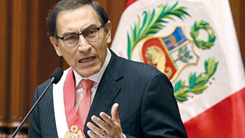 Vizcarra defiende lucha anti corrupción en Perú