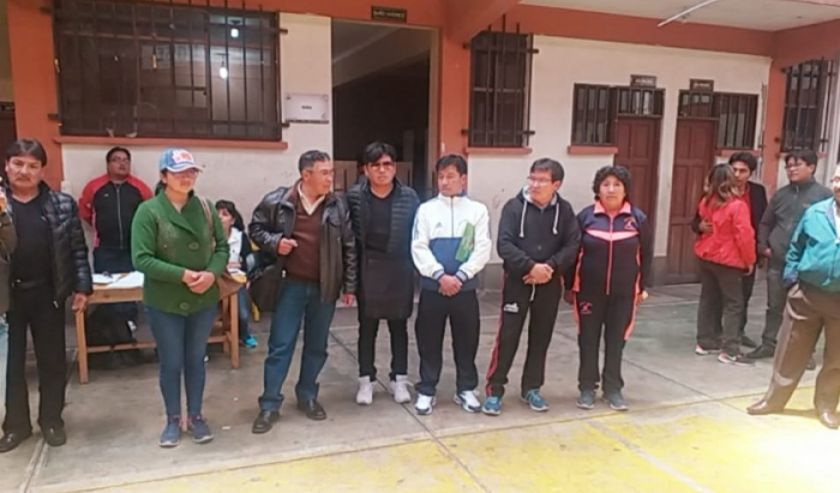 Los maestros urbanos de Potosí designan su comité transitorio